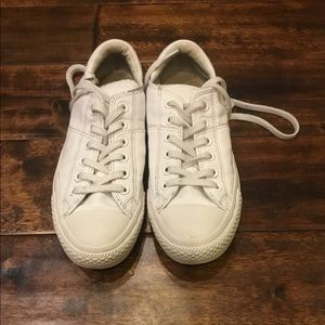 Converse All-Star Leather White Women's Sz 7